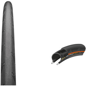 "Continental Ultra Sport II Performance Tyre 28"", Draht, black/orange"